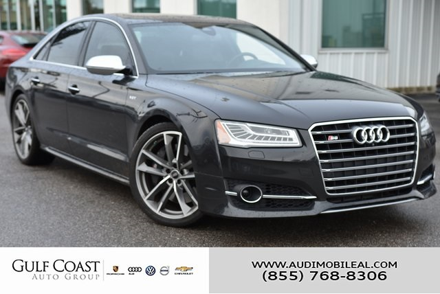 Pre-Owned 2017 Audi S8 4.0T